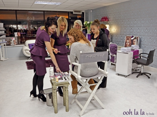commercial photograph of Caldicot beauty salon