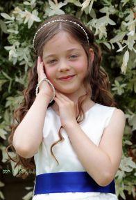 Flower girl Caldicot wedding