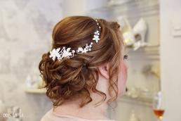 wedding photography Caldicot, bridal hair, Gwent photographer