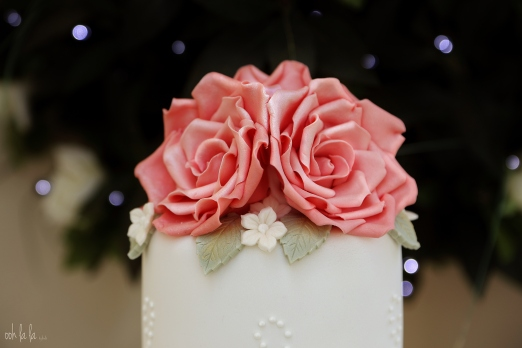 Caldicot wedding photographer, wedding cake, The Old Barn Newport Gwent