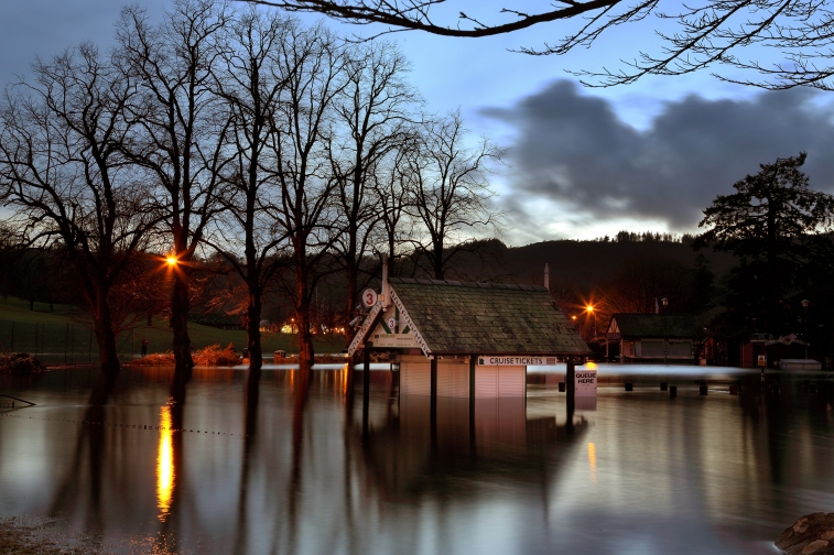 Windermere after Storm Desmond