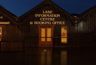 Flooded Windermere