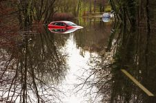 Windermere flooded