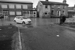 flooded street in Kendal