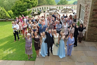 bridal-party-caer-llan
