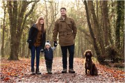 family-dog-Chepstow-woods