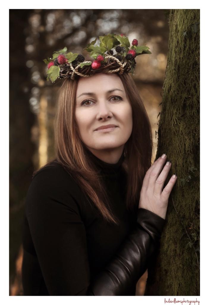 christmas-portrait-woman
