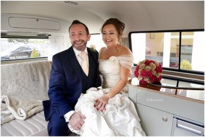 bride-and-groom-in camper-van