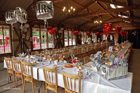 Wedding reception Perrygrove Railway