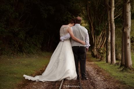 Wedding at Perrygrove Railway