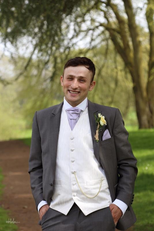 Portrait of a bride groom