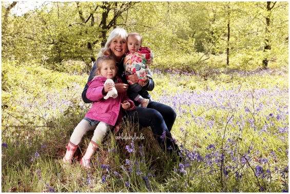 beautiful grandmother with grandaughters family portrait at Wentwood