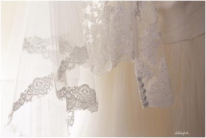 details of wedding dress from Lenkas Bespoke Bridal