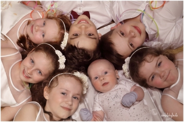 bridesmaid and pageboys portrait
