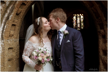 St Thomas church just married