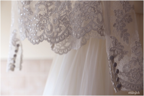 details of bridal gown by Lenkas Bespoke Bridal