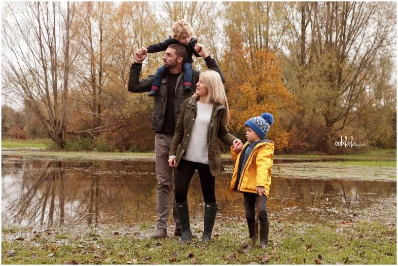 Informal family photoshoot