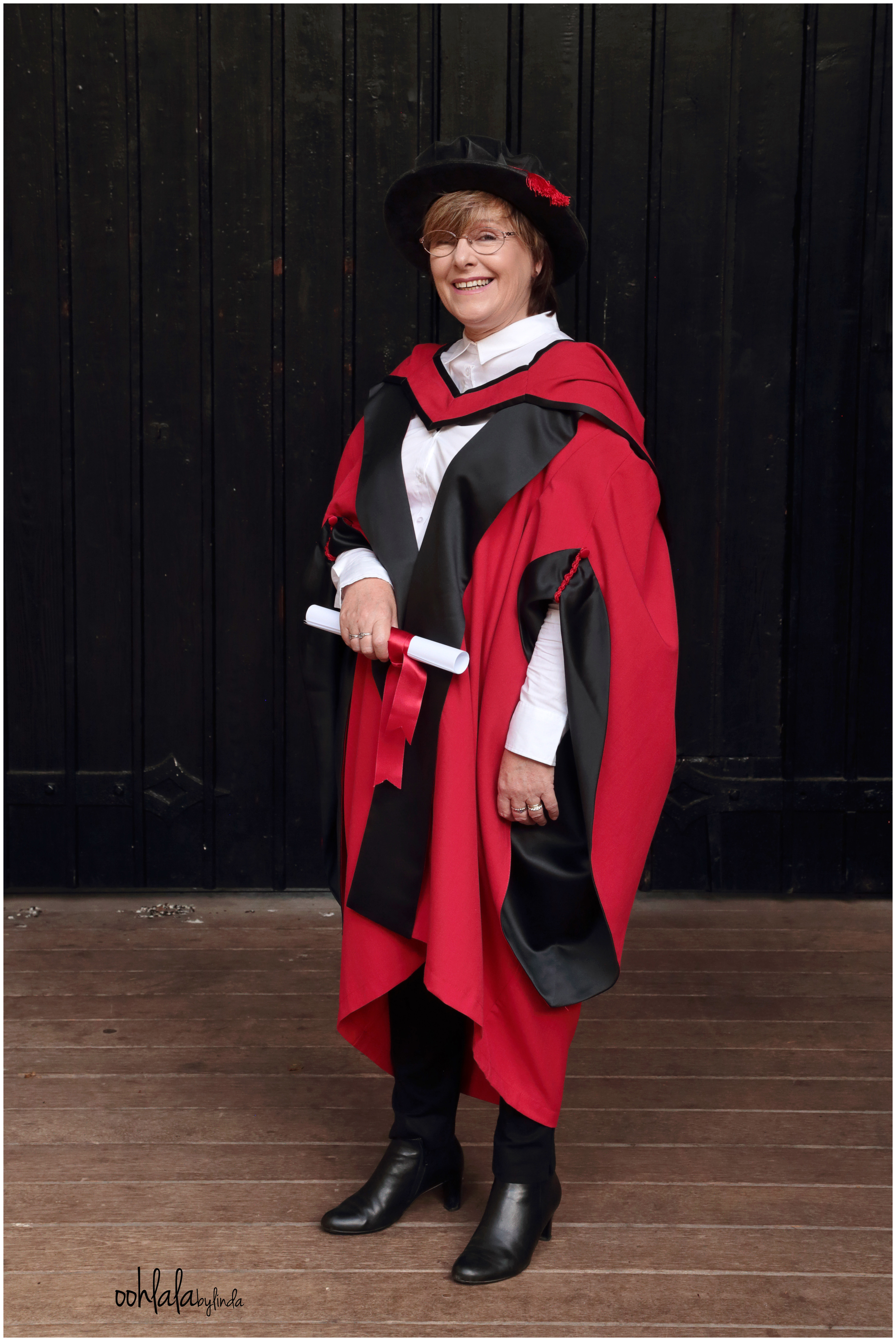 masters graduation photo shoot